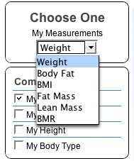 How Am I Doing measurement picker